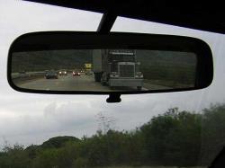 ضامن آینه ای وسط جهت سهولت دید در شب
